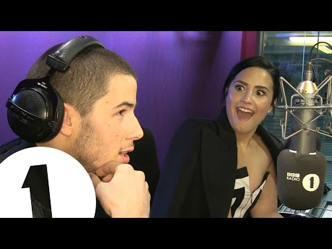 How Well Do Demi Lovato & Nick Jonas Really Know Each Other? - BBC Radio 1