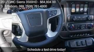 2017 GMC Sierra 3500HD Denali for sale in S. Attleboro, MA 0