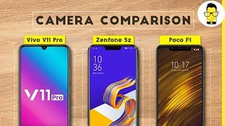 Vivo V11 Pro vs Asus Zenfone 5z vs Poco F1 Camera Comparison: it's tight