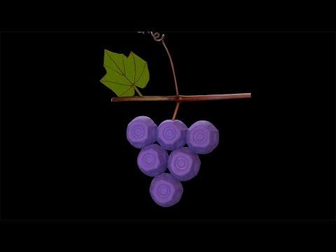 Tuto bricolage de raisins en 3D