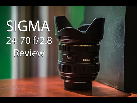 Sigma 24-70 f/2.8 IF EX DG Lens Review with Example Photos