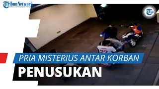 Terekam CCTV, Dua Pria Misterius Menghilang setelah Antarkan Remaja Korban Penusukan di Kalideres