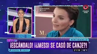 ¡Escándalo! ¡¿Messi Se Casó De Canje?!