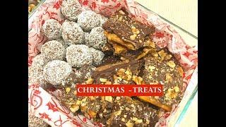 CHRISTMAS TREATS - RUM BALLS & CHRISTMAS CRACK