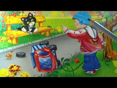 """Стихи Агнии Барто. Стих: """"Грузовик"""" Развивающие занятие для детей 1,5-3 года."""