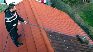 Aqua Jet Roof Cleaning System