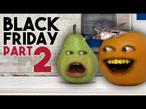 Annoying Orange - BLACK FRIDAY: Day 2 (ASK ORANGE)