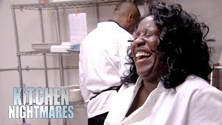 Owner Laughs As Gordon Throws Up In The Toilet | Kitchen Nightmares