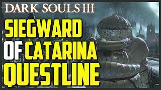 Dark Souls 3: Siegward Of Catarina's Questline + Armor