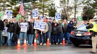 Day 2 of the 2015 Kohler Company Strike