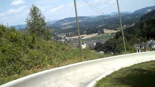 preview picture of video 'Sommerrodelbahn Moosburg in Kärnten, Österreich'