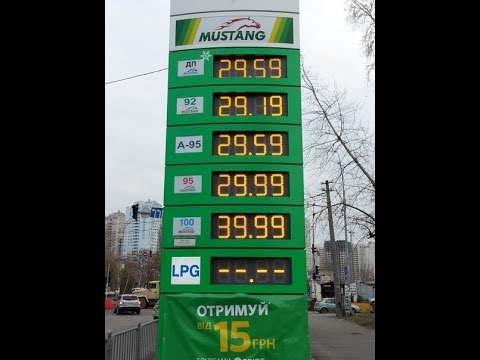 Die Preise für das Benzin seit März 2015