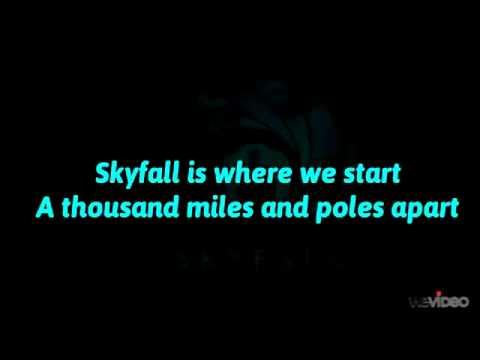 Adele - Skyfall (Lyrics On Screen) 007 Theme Song