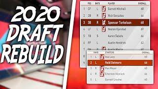 2020 MLB Draft Rebuild Challenge! MLB The Show 20 Franchise Mode
