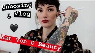 Kat Von D Beauty Day Vlog + Unboxing