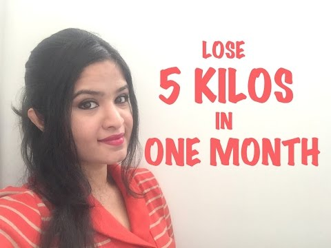 Video LOSE 5 KILOS IN ONE MONTH CHALLENGE !!!