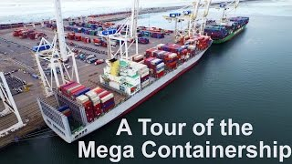 Tour of the Mega Container Ship | Life at Sea | Mariner's Vlog #3