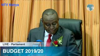 BUDGET 2019/20: CS Rotich Breaks Down Sh3.02 Trillion Budget Proposal