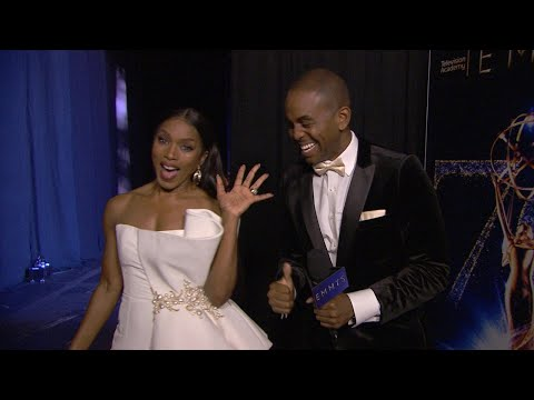 , title : '70th Emmy Awards: Backstage LIVE! with Angela Bassett'