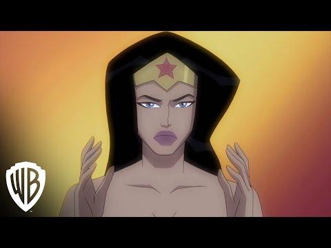 wonder woman animated warner bros movies