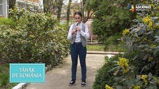 Tânăr de România: Premianta care a învățat singură să cânte