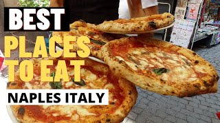 #1 MOST FAMOUS PIZZERIA IN NAPLES ITALY | Italy Travel Vlog
