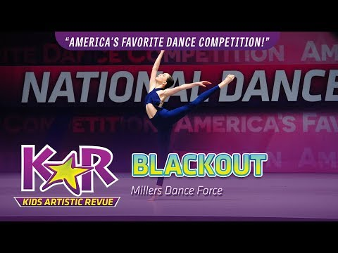 """""""Blackout"""" from Miller's Dance Force"""