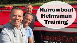 Learning New Narrowboat Skills - RYA Helmsman Training