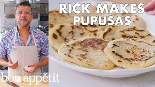 Rick Makes Pupusas (Fried Corn Fritters) | From the Test Kitchen | Bon Appétit