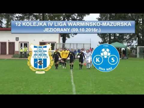 Skrót meczu Stomil II Olsztyn - Unia Susz 2:6
