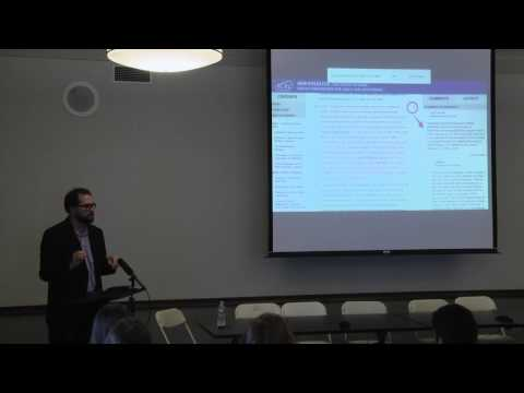 Digital Dante Forum at Columbia University: Part 1