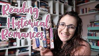 I Read Five Historical Romances In A Week | Historical Romance Readathon Vlog