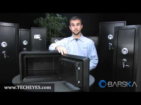 New Large Fireproof Safe AX11902 by Barska Video-Review by www.TECHEYES.com