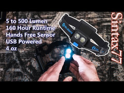 Olight H16 Wave Review – Headlamp for Backpacking (5 to 500 lumens)