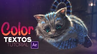 Textos de Colores After Effects Tutorial
