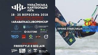 День 2. Финальный этап чемпионата Украины по кайтбордингу