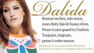 Dalida - Buenas noches mi amor - Paroles (Lyrics)