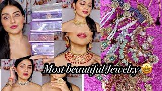 HUGE JEWELLERY HAUL 2020 | Indian Bridal/ Wedding Jewellery Collection | Beautiful Jewellery Designs