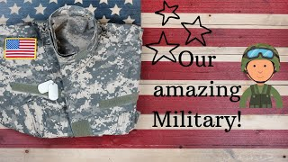 Our amazing military! An educational video for children!