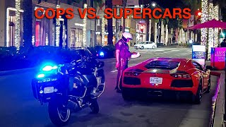 BEVERLY HILLS COPS PULLS OVER & TICKETS EVERYONE...Will the Mercedes $12,000 Exhaust be Safe?