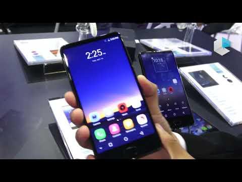 Uhans MX borderless smartphone