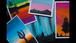 5 TÉCNICAS MÁGICAS DE ARTE | 5 MAGICAL ART TECHNIQUES