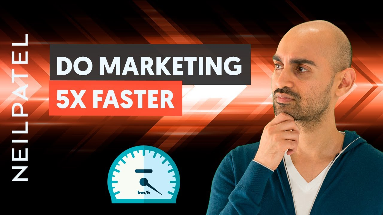 How to Stop Overthinking Your Marketing And Do The Work 5x Faster