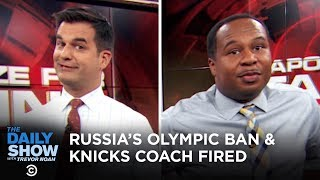 I Apologize for Talking While You Were Talking - Lizzo's Thong & The Knicks Coach   The Daily Show
