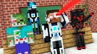 Monster School : BREWING ROBOT CHALLENGE - Minecraft Animation