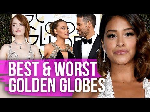 Best & Worst Dressed Golden Globes 2017