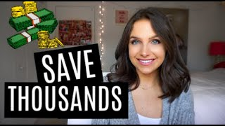 HOW I SAVED THOUSANDS OF DOLLARS ON A SMALL SALARY