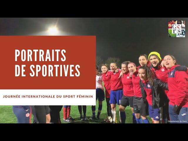 Portraits de Sportives - Journée Internationale du Sport Féminin