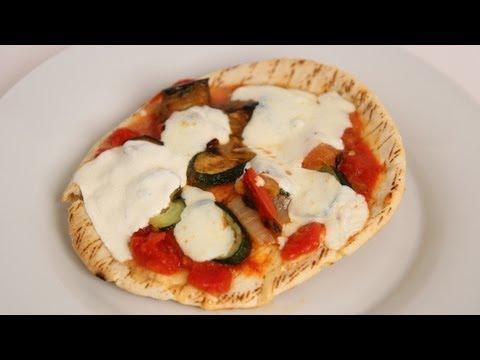 Homemade Pita Pizza Recipe – Laura Vitale – Laura in the Kitchen Episode 397