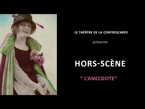 Découvrez le « HORS-SCÈNE • L'ANECDOTE » de Pierrette DUPOYET, qui est à l'affiche du Théâtre de...